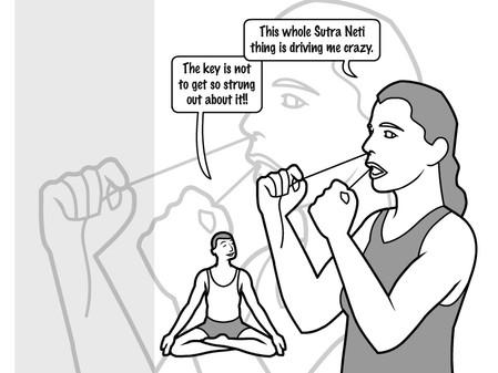 sutra neti - nasal purification