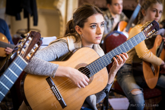 National Youth Guitar Ensemble - Day in the Life