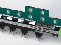 Oakland A's Control Room
