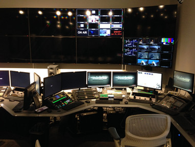 Broadcast Operations Custom Millwork