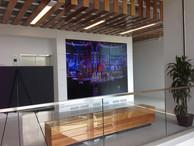 KNBC Tom Brokaw Center Lobby Grid