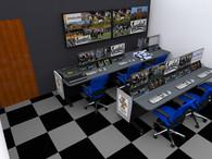 U of Idaho Broadcast Control Room