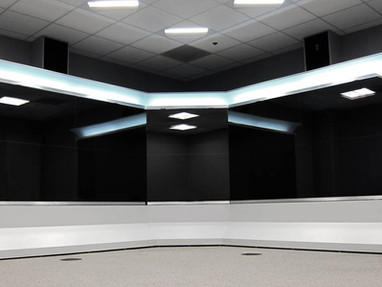 Teleconferencing Wall
