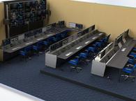 Gaming Control Room - Manhattan Beach