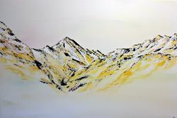 Gelbe Bergwelt