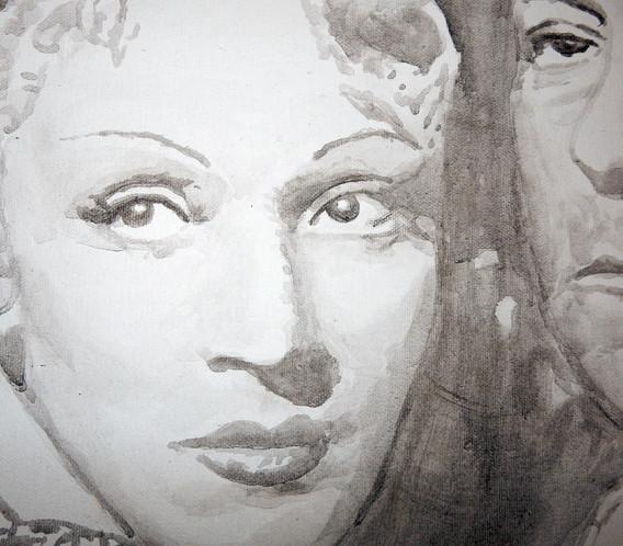 Marlende Dietrich und Jean Gabin