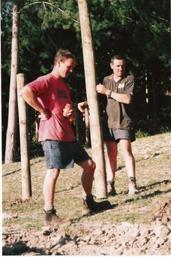 Nick & Pat fencing