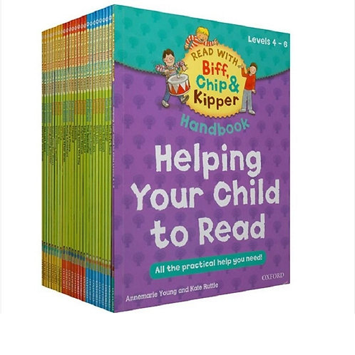 25 Books/Set Oxford Reading Tree  Book Helping