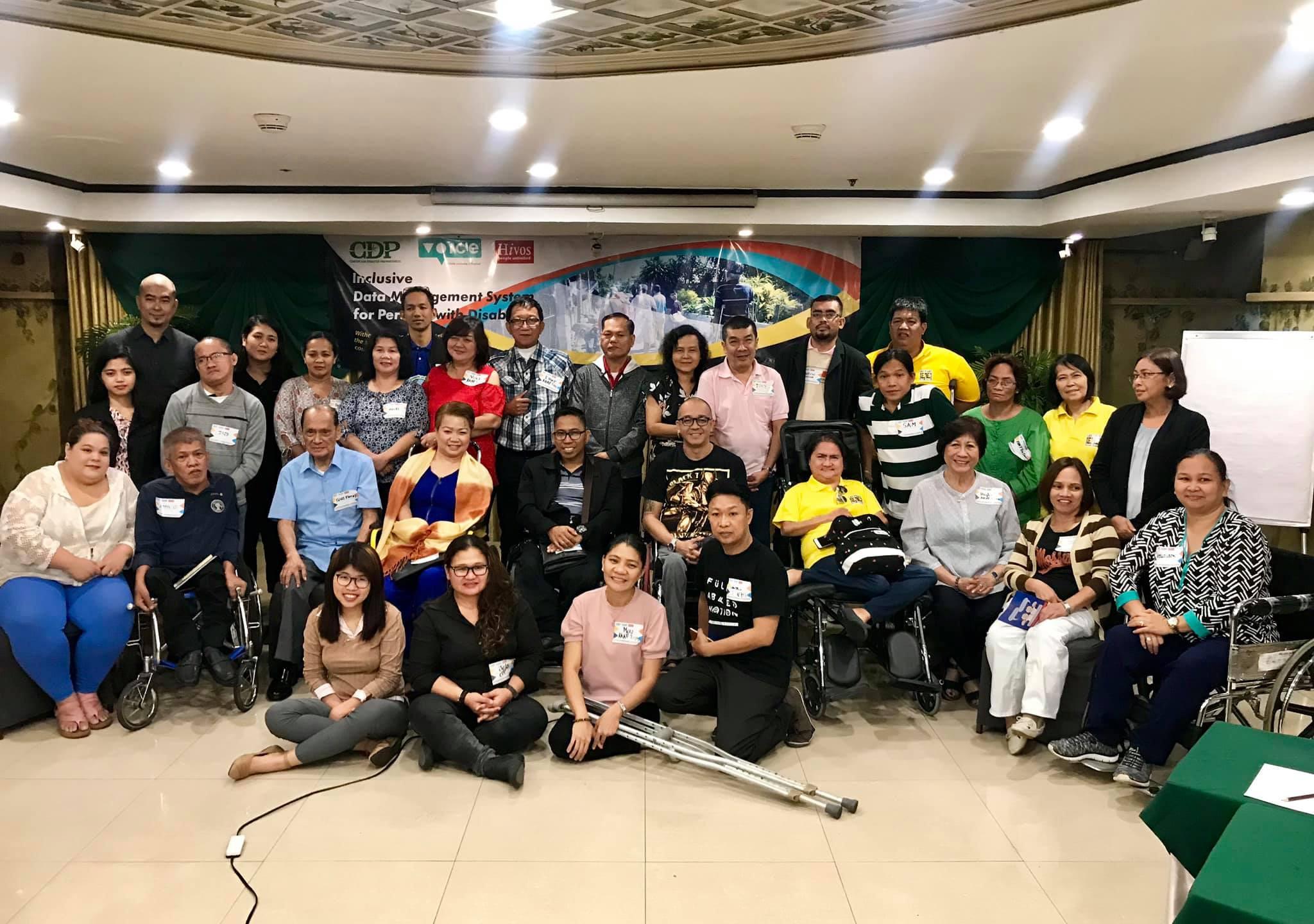 Luzon consultation participants
