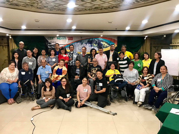 CDP concludes Luzon consultations on data management for persons with disabilities