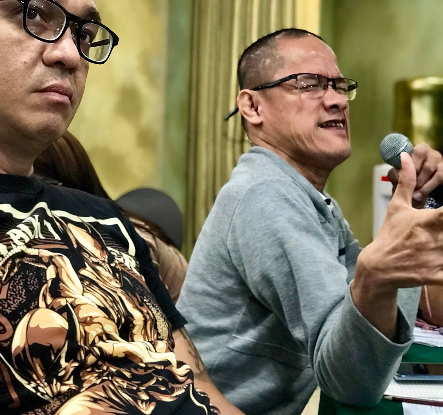 Mr. Jojo Rea of AKAP Pinoy