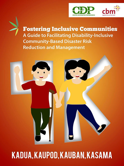 Fostering Inclusive Communities: A Guide to Facilitating DiCBDRRM