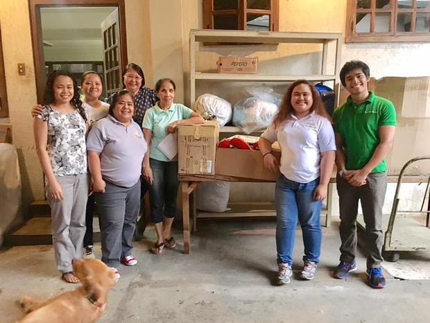 #NinaPH: Relief goods provided via local partner in Bicol
