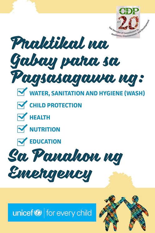 Praktikal na Gabay para sa Pagsasagawa ng Emergency Response para sa mga Bata