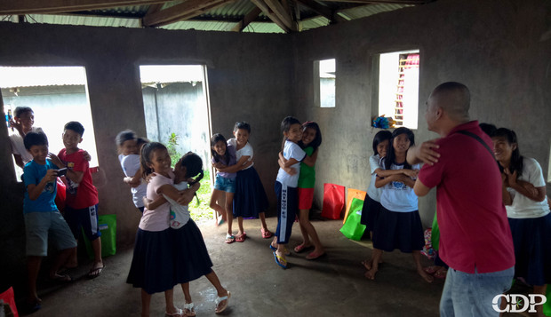 CDP focuses on mental health for children in Mayon response