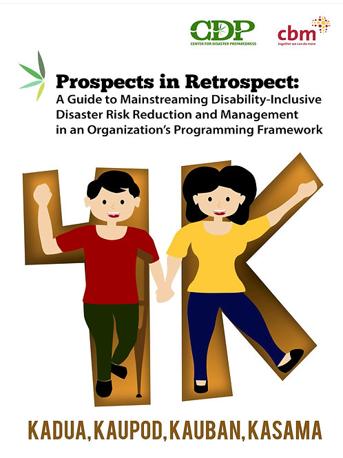 Prospects in Retrospect: A Guide to Mainstreaming DiDRRM