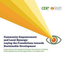 Community Empowerment  and Local Synergy-  Laying the Foundations towards Sustainable Development.jp