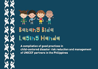child-centered DRRM, children, youth, good practices