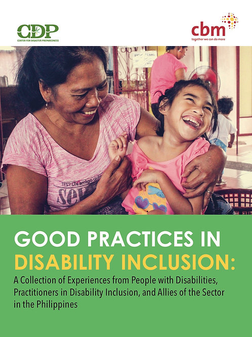 Good Practices in Disability Inclusion