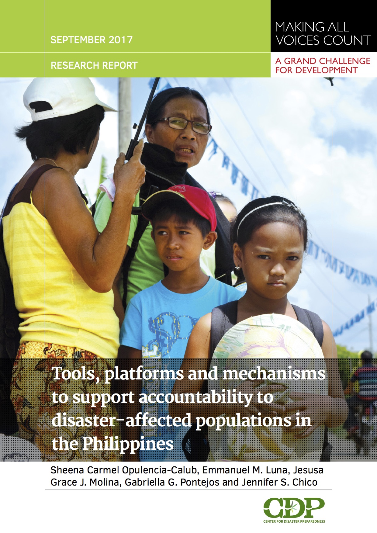 MAVC Accountability in Disasters