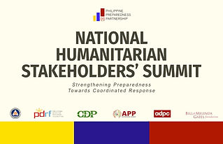 philprep, partnership, private, government, cso, national humanitarian summit, localization
