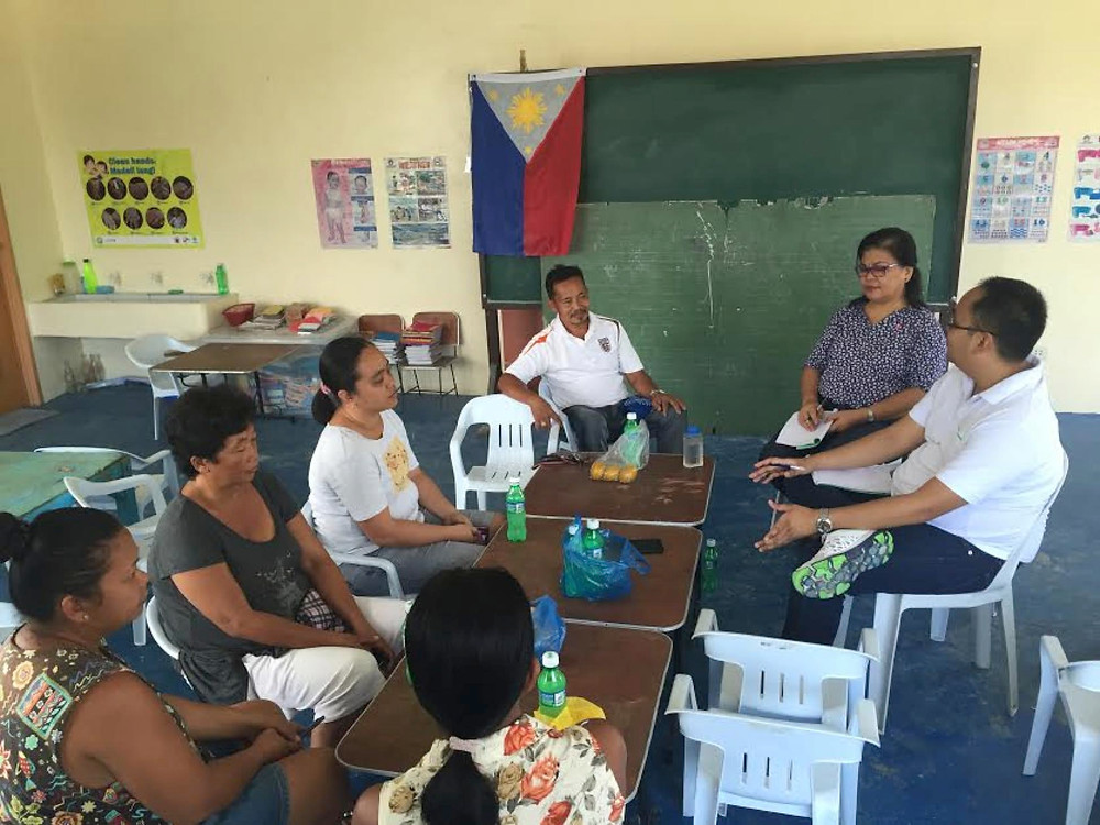 Focus Group in Lawaan, Samar (July, 2016).