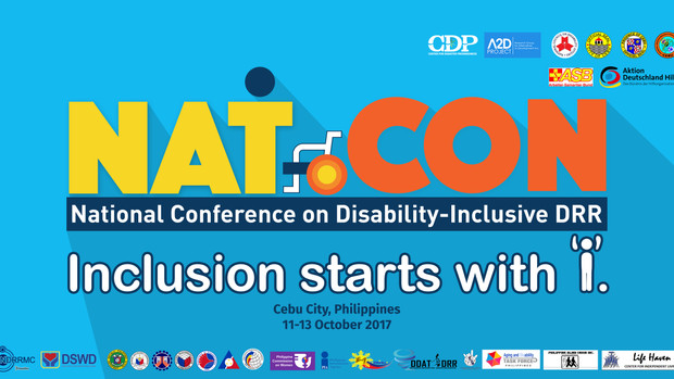 #DiDRRNatCon: Government, Civil Society, Persons with Disabilities to Hold Confab Disability and DRR