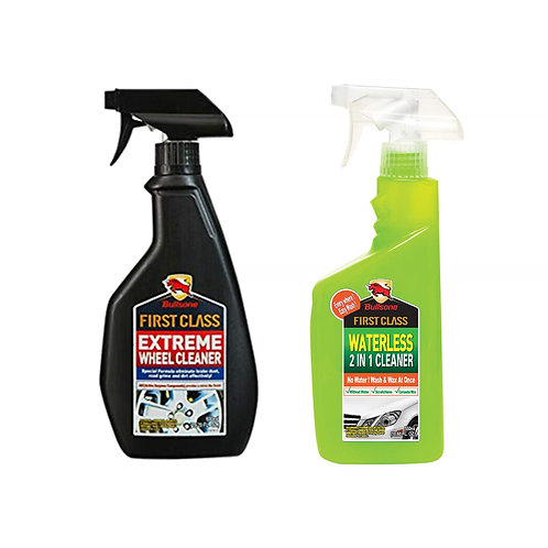 Bullsone First Class Extreme Wheel Cleaner & Waterless Wash Wax