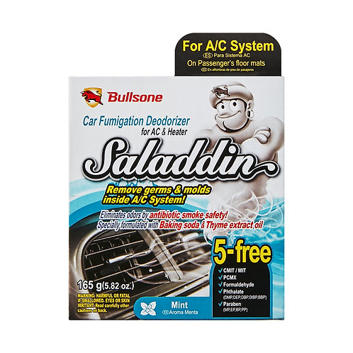 Saladdin Car Fumigation Deodorizer for A/C system_Mint