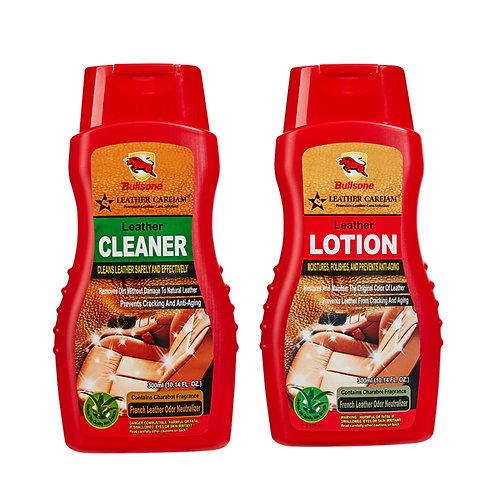 Bullsone Carejam Leather Cleaner & Lotion