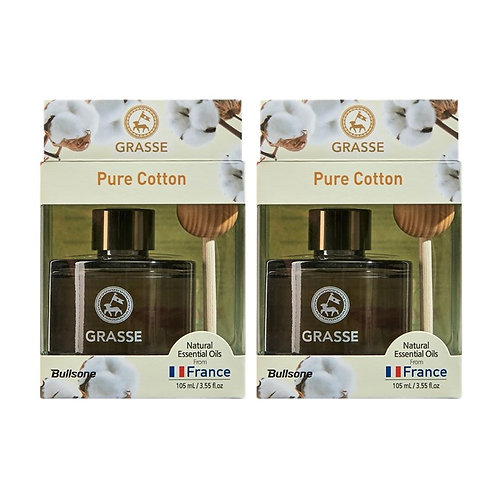 Grasse Diffuser_Pure Cotton_2 Pack