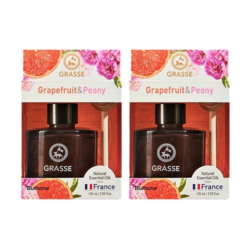 Grasse Diffuser_Grapefruit &  Peony_2 Pack