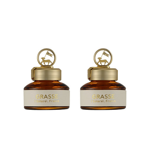 Grasse L'Esterel_White Lily Musk_2 Pack