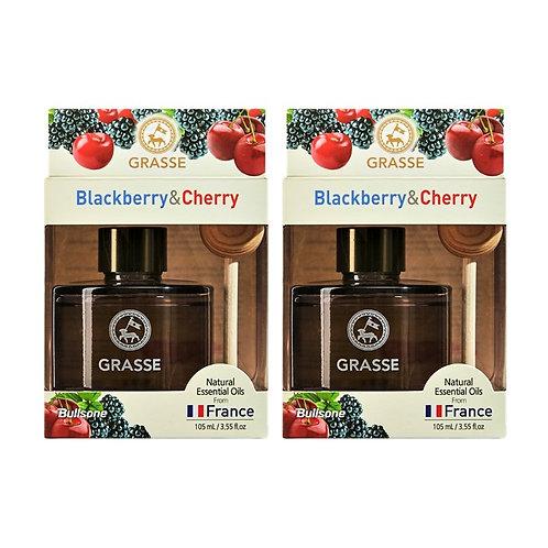 Grasse Diffuser_Black Berry & Cherry_2 Pack