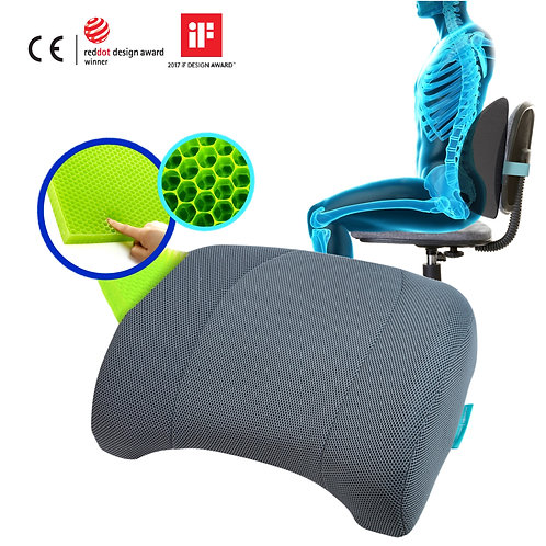 BalanceOn Lumbar Cushion_Color Grey