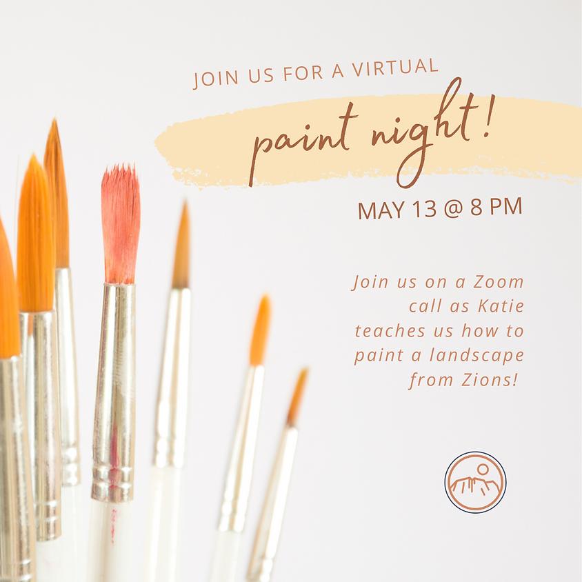 Virtual Paint Night