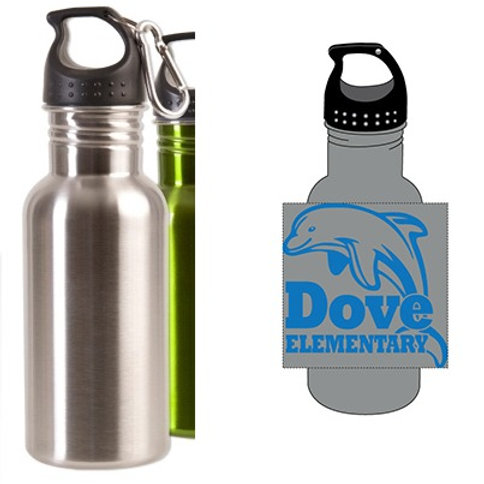 Stainless Steel Dove Water Bottle