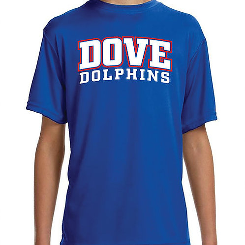 Dri-Fit Dove Dolphins Shirt - Adult XL & 2XL
