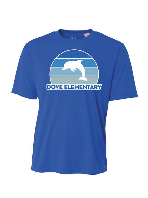 Dri-Fit Blue Stripes Dolphin Tee