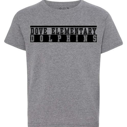 Dove Elementary Athletic Logo T-Shirt - Youth Sizes