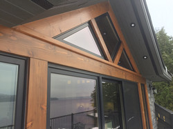 cottage boathouse exterior
