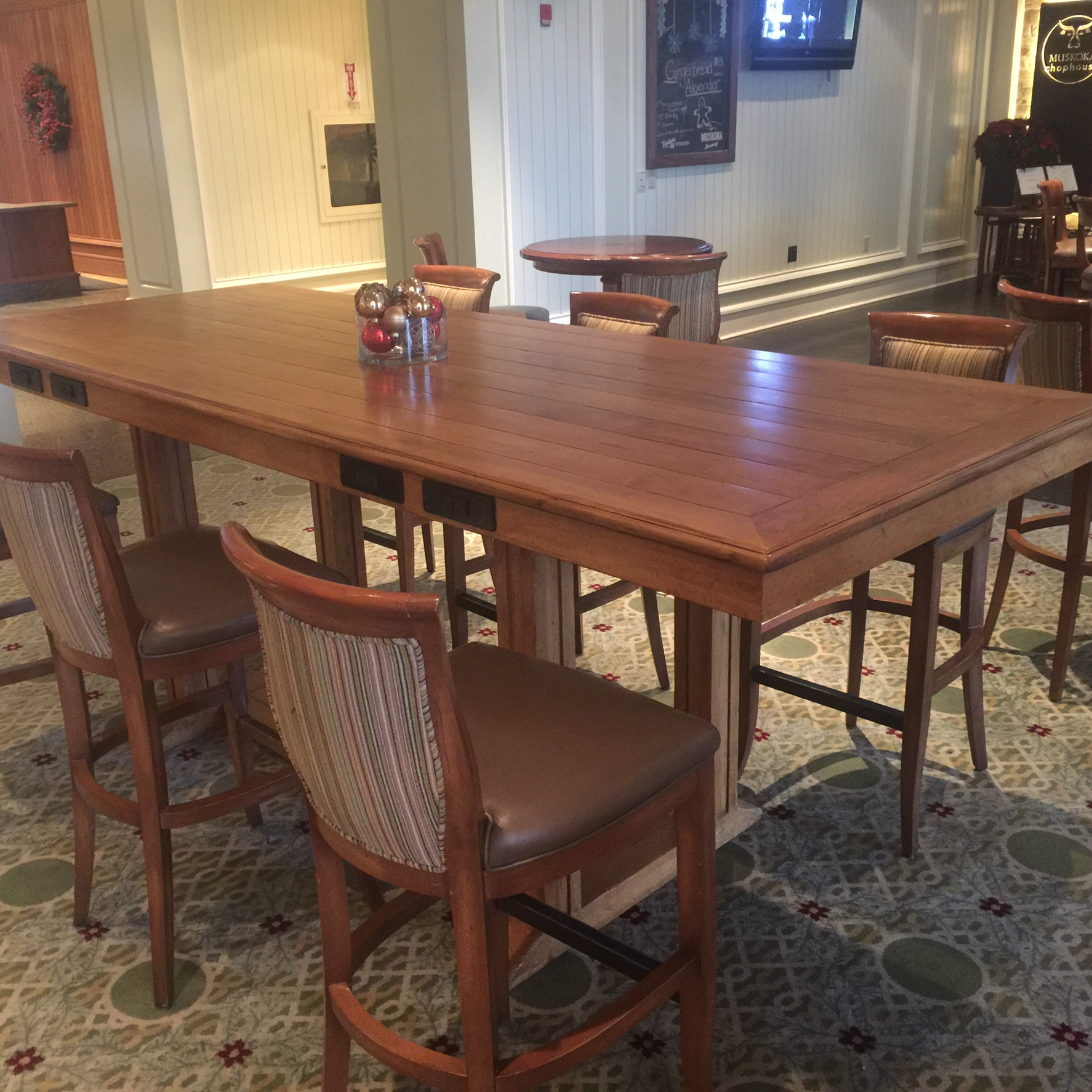 JWMarriot wood table refinishing