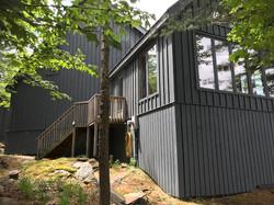 muskoka cottage exterior