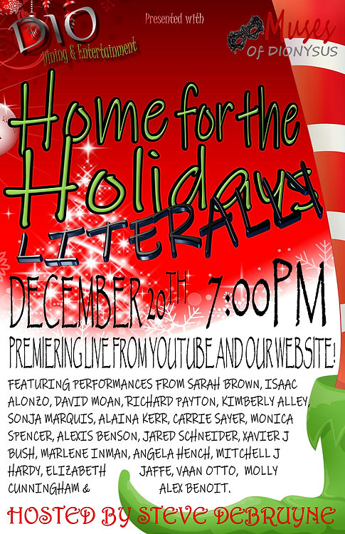 HOME FOR THE HOLIDAYS LITERALLY    POSTE