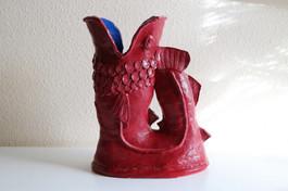 Gluggle jug sculpture