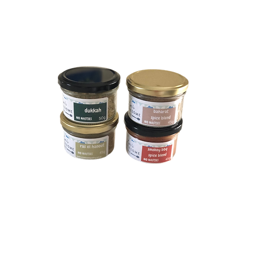 Spice Pack of 4