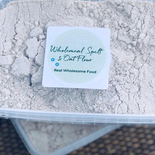 Wholemeal Spelt & Oat Flour