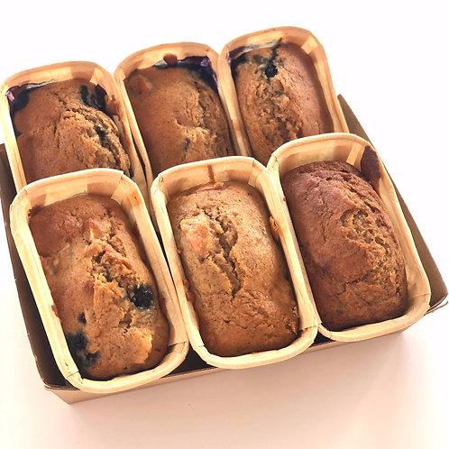 Lemon Blueberry Loaves- 6 Pack