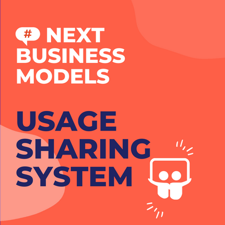 The usage sharing system model : enhances exchanges between individuals