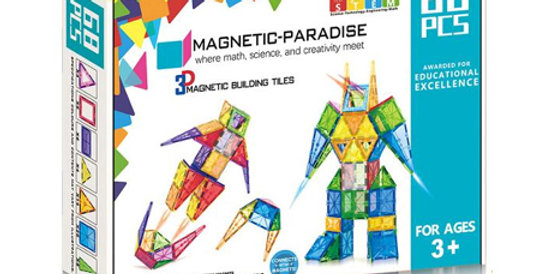 Magnetic-Paradise 68 Piece Set